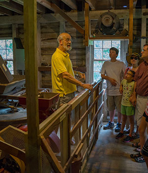 Grist Mill Demonstration Day at Bloomfield Farm
