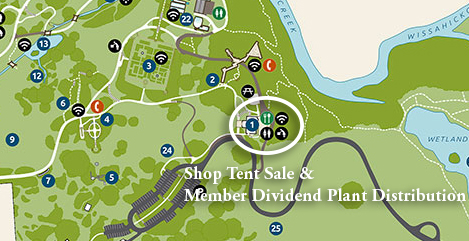 Map of the Arboretum