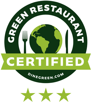 Green Restaurant Certified Badge